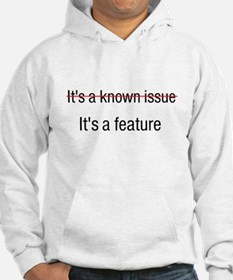 It's a Feature Jumper Hoody
