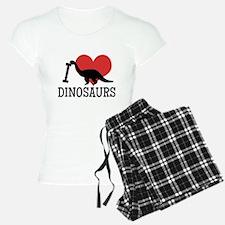 I Love Dinosaurs Pajamas