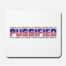 Pussified America Mousepad