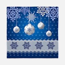 Winter Holidays Queen Duvet
