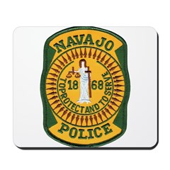 Navajo Tribal Police Mousepad