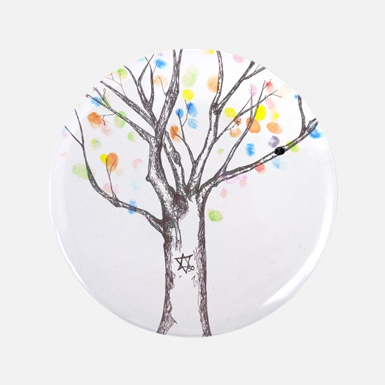 "Tree of Life 3.5"" Button (100 pack)"