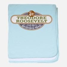 Theodore Roosevelt National Park baby blanket