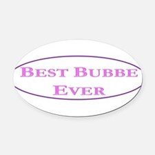 Best Bubbe Ever (Best Grandma in Yiddish) Oval Car