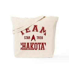 star-trek_team-chakotay Tote Bag
