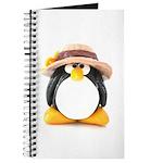 Sunflower Hat Clay Penguin Journal