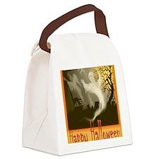 Happy-Halloween Canvas Lunch Bag