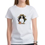 Gardening Penguin Women's T-Shirt