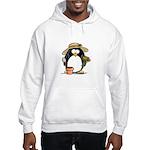 Gardening Penguin Hooded Sweatshirt