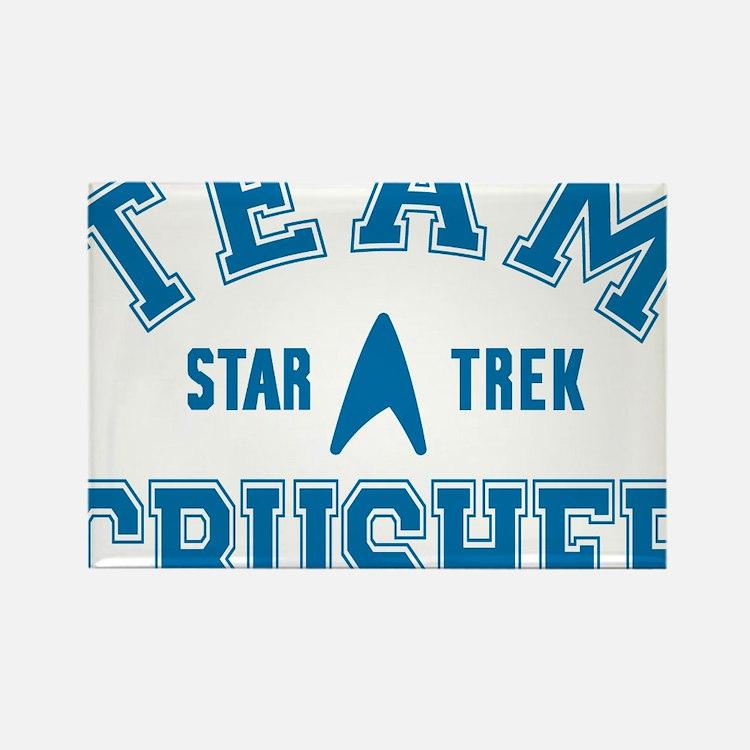 star-trek_team-crusher Rectangle Magnet