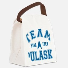 star-trek_team-pulaski Canvas Lunch Bag