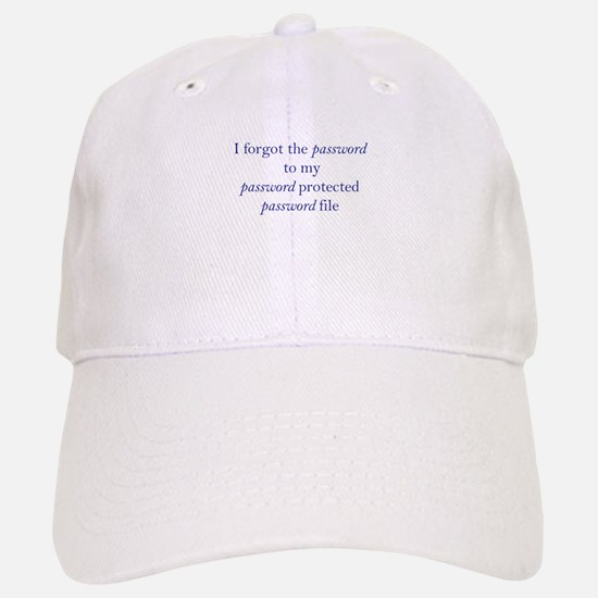 Forgot my Password Baseball Baseball Cap