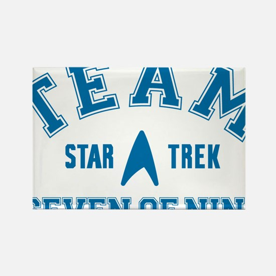 star-trek_team-seven-of-nine Rectangle Magnet