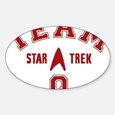 star-trek_team-q Sticker (Oval)