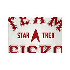 star-trek_team-sisko Rectangle Magnet