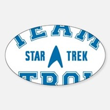 star-trek_team-troi Sticker (Oval)