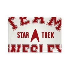 star-trek_team-wesley Rectangle Magnet