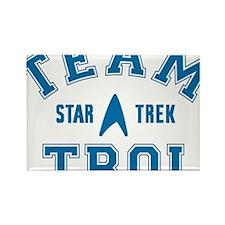 star-trek_team-troi Rectangle Magnet