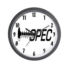 2-large wallclock screw opec Wall Clock