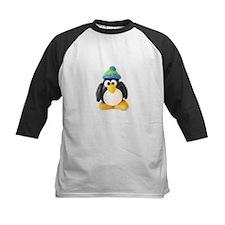 Clay Green Beanie Penguin Tee