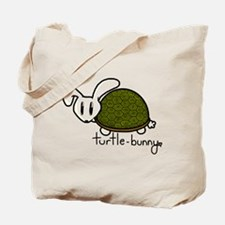 Turtle-Bunny Tote Bag