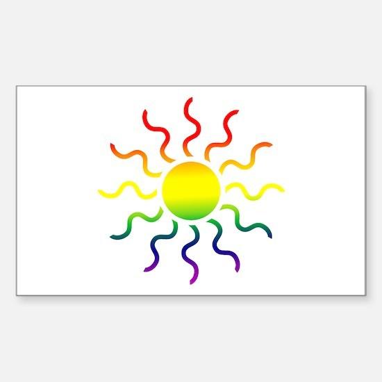 Triabl Sun Rectangle Decal
