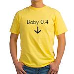 Baby 0.4 Yellow T-Shirt