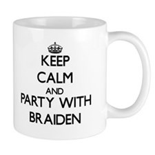 Keep Calm and Party with Braiden Mugs