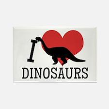 I Love Dinosaurs Magnets