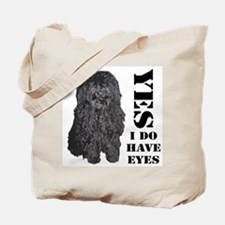 Puli : Yes I Do Have Eyes Tote Bag