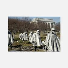 Korean War Memorial Rectangle Magnet (10 pack)