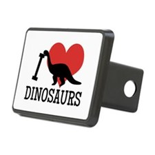 I Love Dinosaurs Hitch Cover