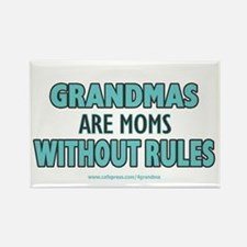 Moms Without Rules Rectangle Magnet