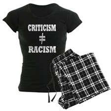 black shirt criticism pajamas