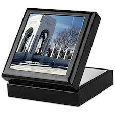 World War II Memorial Keepsake Box