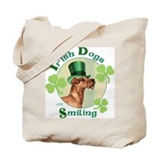 St. Patrick Irish Terrier Tote Bag
