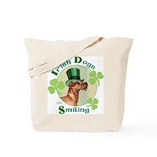 St. Patrick Irish Terrier Tote Bag