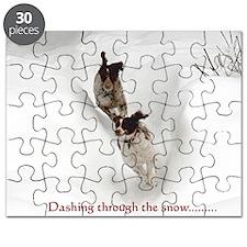 Dashing through the snow Puzzle