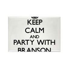 Keep Calm and Party with Branson Magnets
