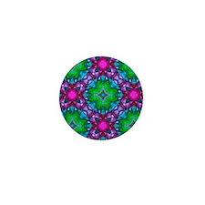 kaleido art imperial Mini Button