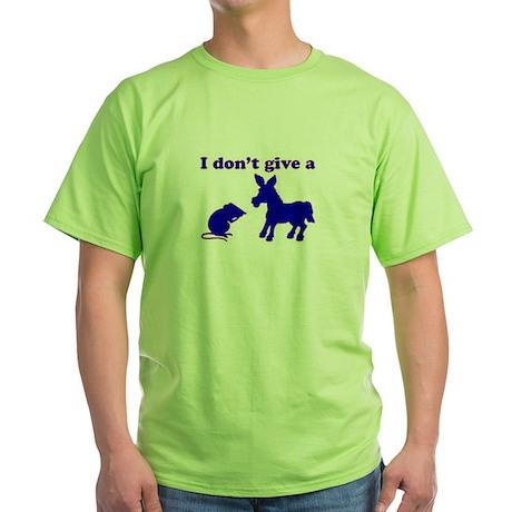 Rat's Ass Green T-Shirt