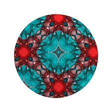 "kaleido art imperial 3.5"" Button"