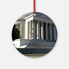 Jefferson Memorial Ornament (Round)