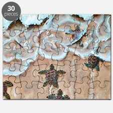 Race To The Sea square Puzzle