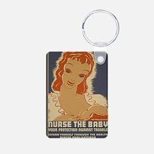 ART Magnet nurse the baby Keychains
