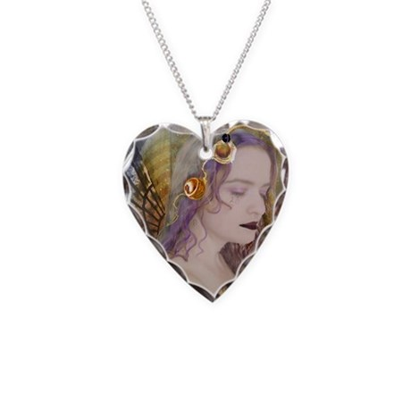 mysterious_fairy_by_Borgs13 Necklace Heart Charm