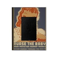 ART WPA shirt Nurse the baby Picture Frame