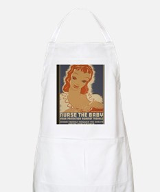 ART WPA shirt Nurse the baby Apron