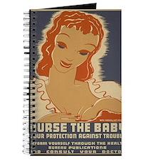 ART WPA shirt Nurse the baby Journal