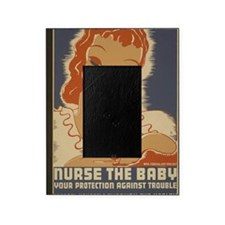ART mini poster Nurse the Baby Picture Frame
